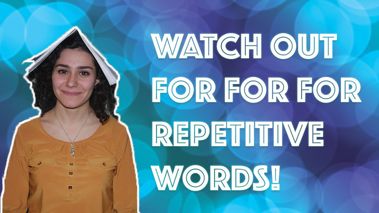 repetitive words