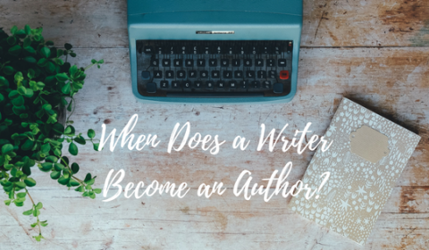 writer become an author